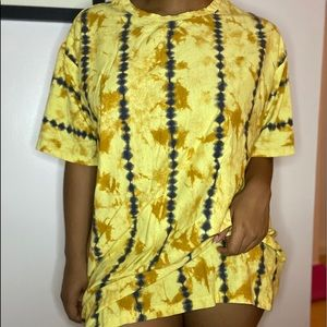 TIE DYE TSHIRT DRESS